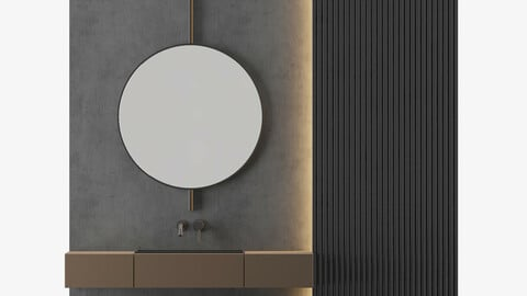 MODERN - Gray Bathroom_04