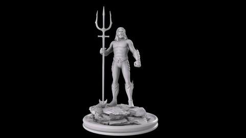 Aquaman stl 3dprinting