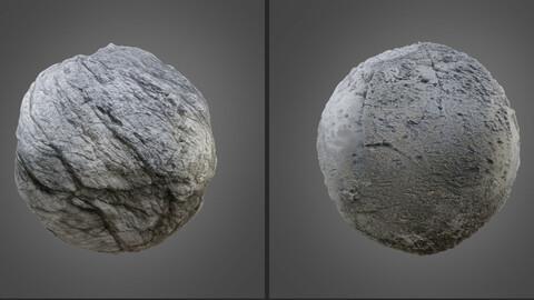 Rock PBR Textures