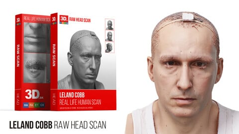 Leland Cobb / Raw 3D Head Scan