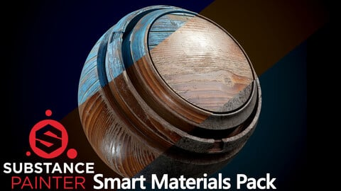 Metal Woood Paint Smart Materials Pack