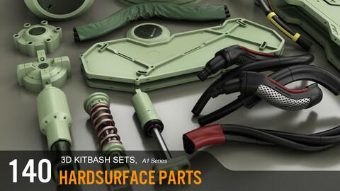 3D KITBASH, A1 series FULL PACK