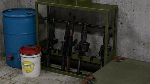 Bunker Tunnel Props