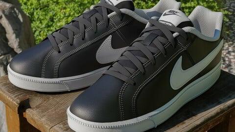 Nike Court Royale 01 - 3d Model
