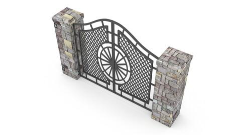 garden gate can