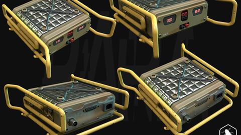 QRP - Gameready 3D Model