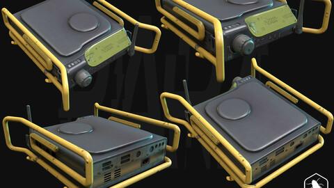 Yaru - Gameready 3D Model