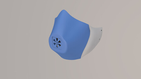 Tropper Mask for Kids - Digital STL Files - 3D Printing Masks