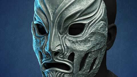 Lin Kuei warriors mask - Mortal Kombat 2021 3D print model