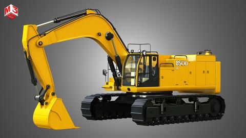 850D LC Excavator 3D model