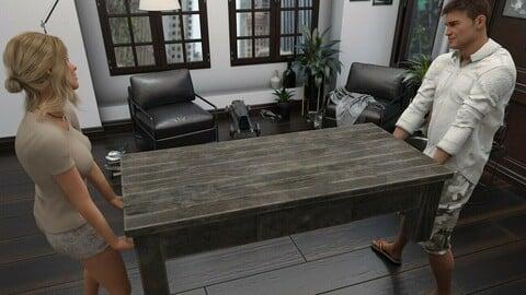 DIY Coffee Table Props & Pose Set