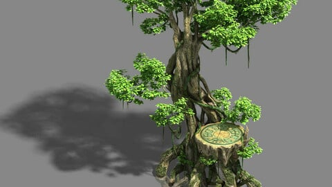 Main city fishing area - tree