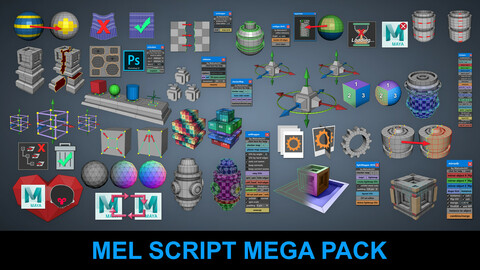 Mel Script Mega Pack at a Discounted Price You Save $358