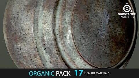 Organic Creature Pack 17+ Smart Materials