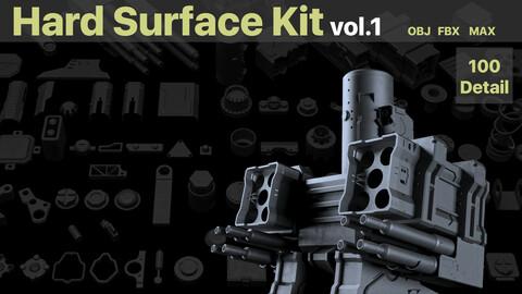 100 Hard Surface Kit Vol.1