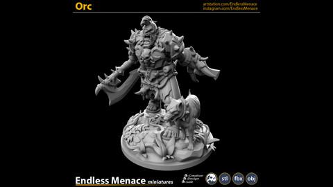 Orc   3D print ready