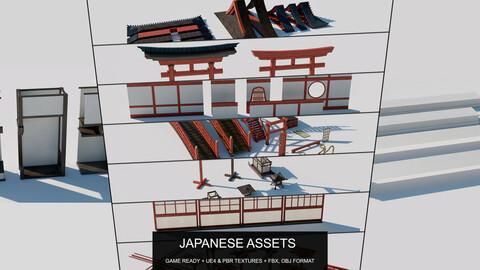 Japanese Modular Assets
