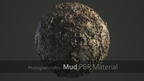 Mud PBR Material (4 in 1)