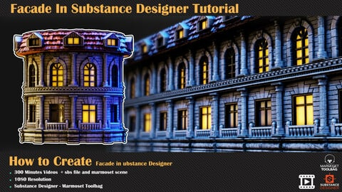 Facade In Substance Designer Tutorial