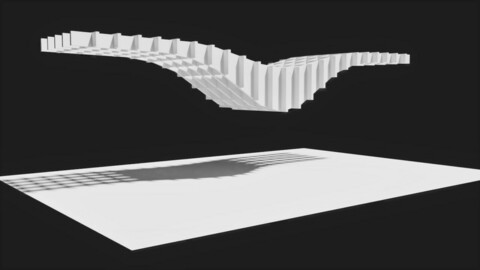 Seahorse Architecture Truss (Trellis)