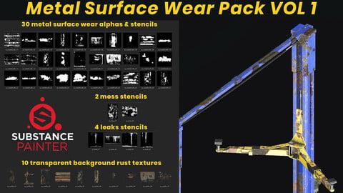 Metal Surface Wear Pack VOL 1