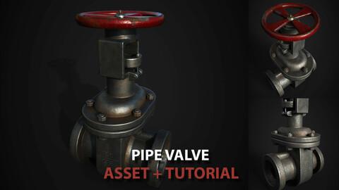 Pipe Valve Asset + Tutorial