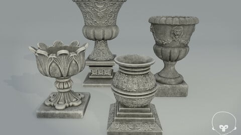 Vases and Planters - Vol 01