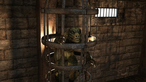 Fantasy Prison Cages