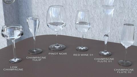 JW Glassware Set