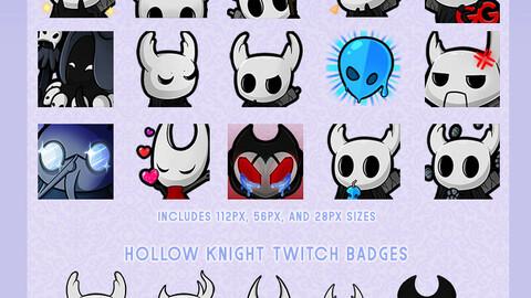 [Free] Hollow Knight Emotes (Discord & Twitch) - Batch 2