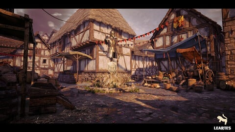 Medieval Village Environment / Unreal Engine 4