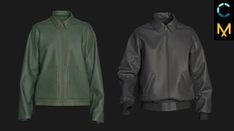 Leather jackets. MD / Clo 3D model projects / ZPRJ