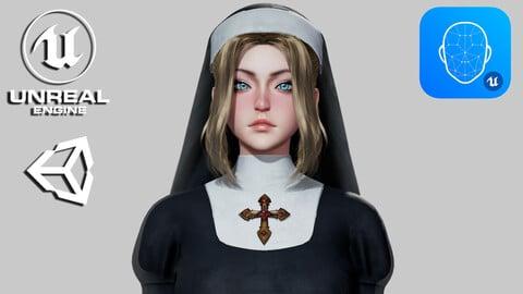 Nun - Game Ready