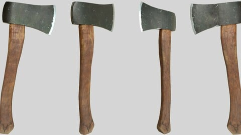Game Ready Hand Axe