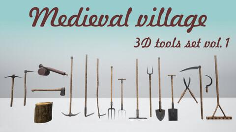 Medieval Village tool set (vol.1)