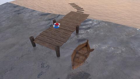 Port 3D Model
