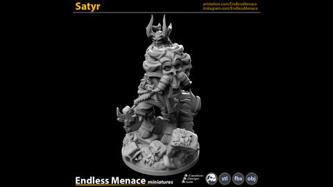 Satyr   3D print ready