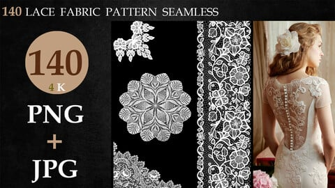 140 LACE  FABRIC PATTERN  SEAMLESS