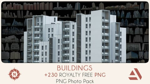 PNG Photo Pack: Buildings