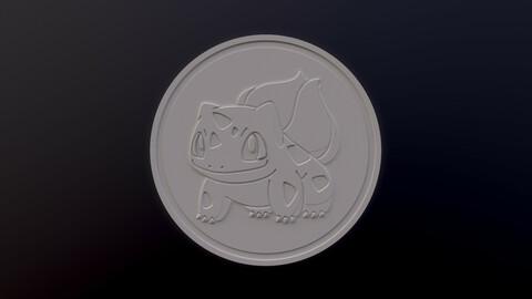 Bulbasaur 3D printable model - Pokémon collectibles