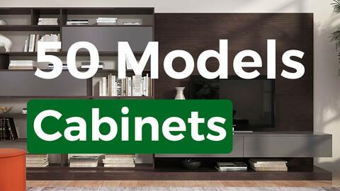 50 Models Cabinets
