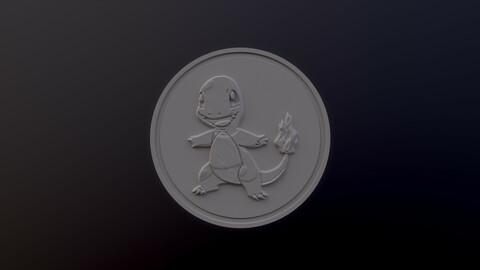 Charmander 3D printable model - Pokémon collectibles