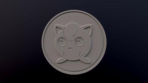 Jigglypuff 3D printable model - Pokémon collectibles