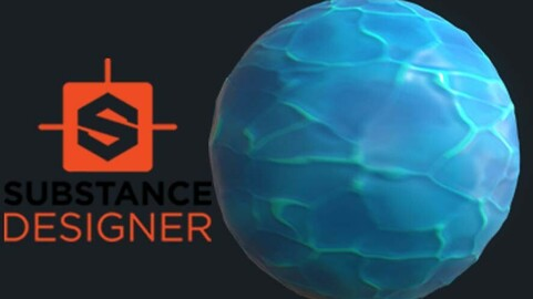 Stylised Water - Substance Designer