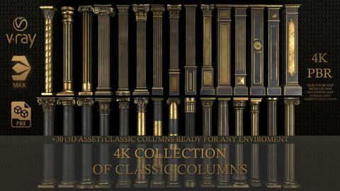 4K Classic Columns