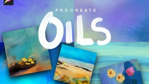 Procreate oil brush