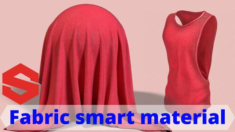 Fabric smart material : Men's gym tank top