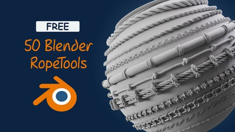 50 Blender Rope Tools _ FREE