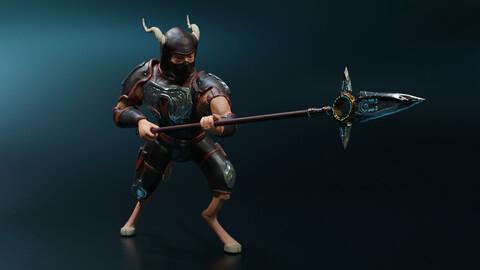 Satyr-spearman