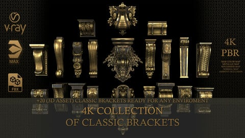 4K collection of classic brackets